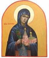 Святая преподобная Параскева Топловская, инокиня Страстного монастыря