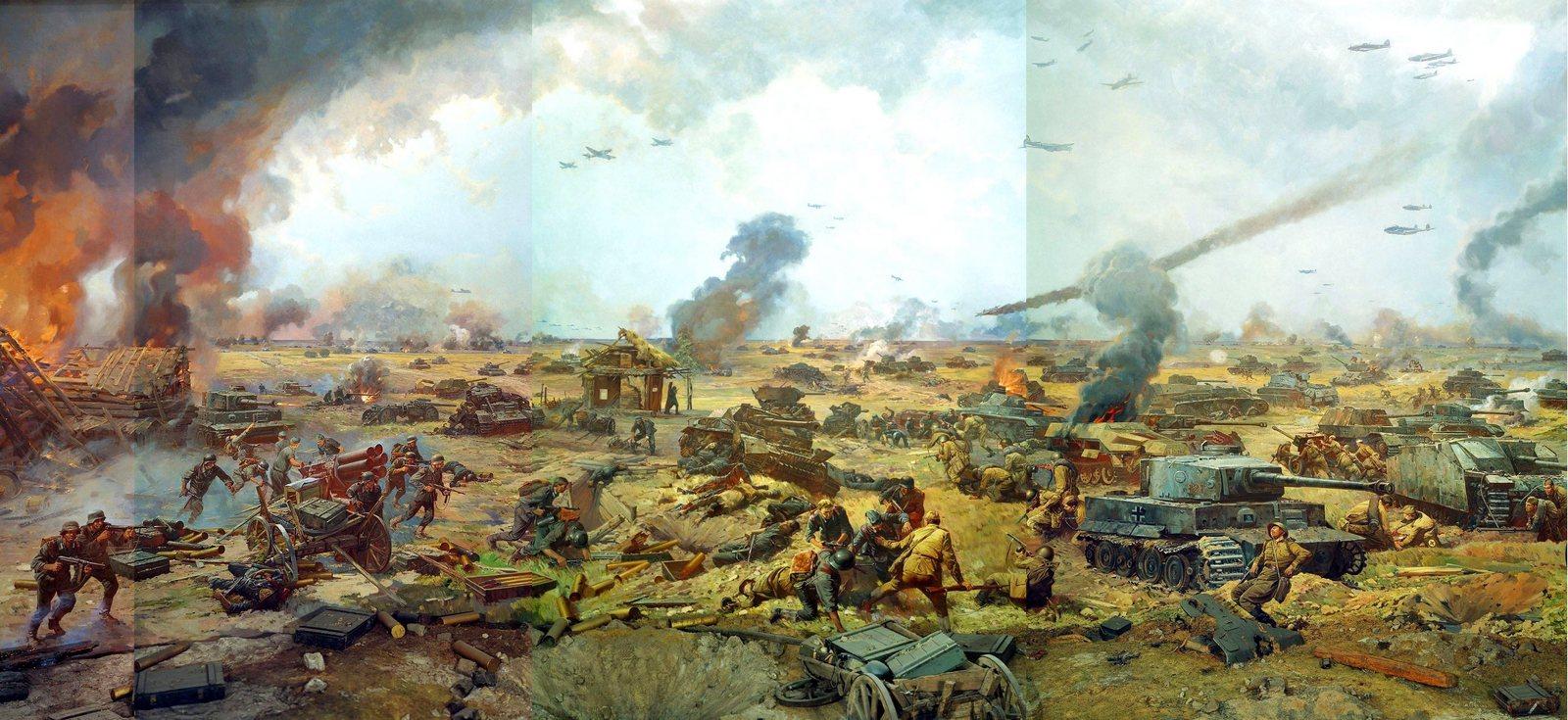 Панорама Курской битвы