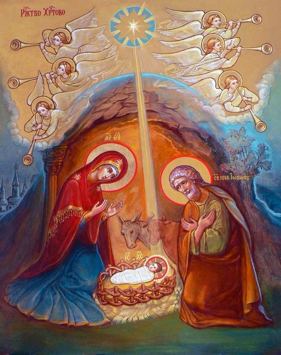 Рождество Христово. Икона (3)