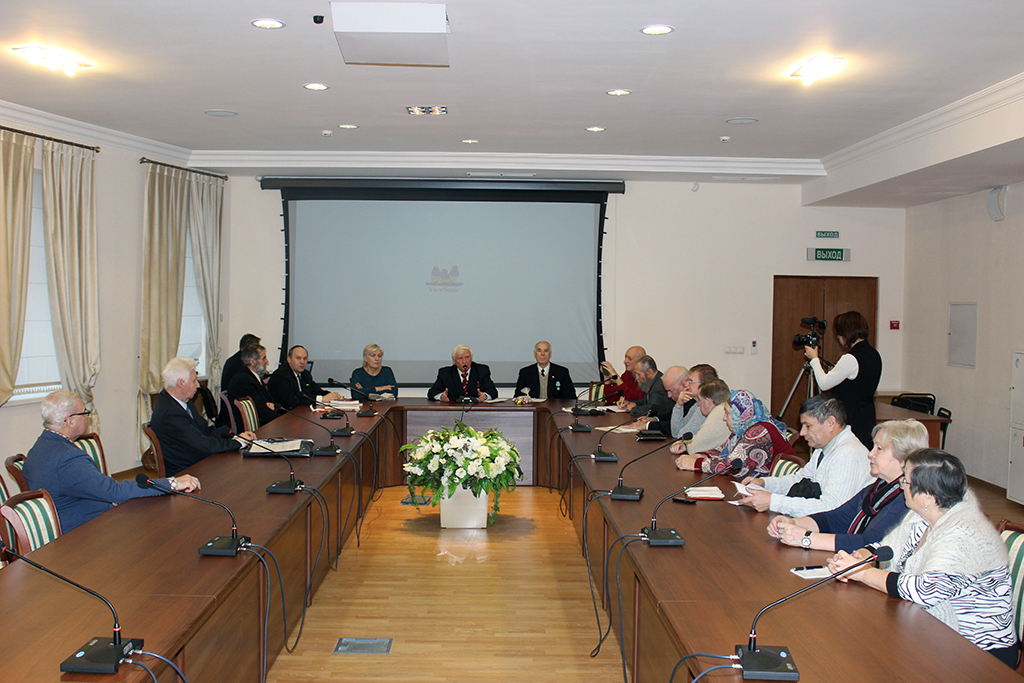 5 декабря  2017 года состоялось расширенное заседание РОО «Бородино–2045»
