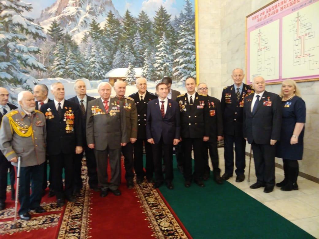 Делегация РОО «Бородино 2012-2045» приняла участие в торжественном приеме в Посольстве КНДР в РФ