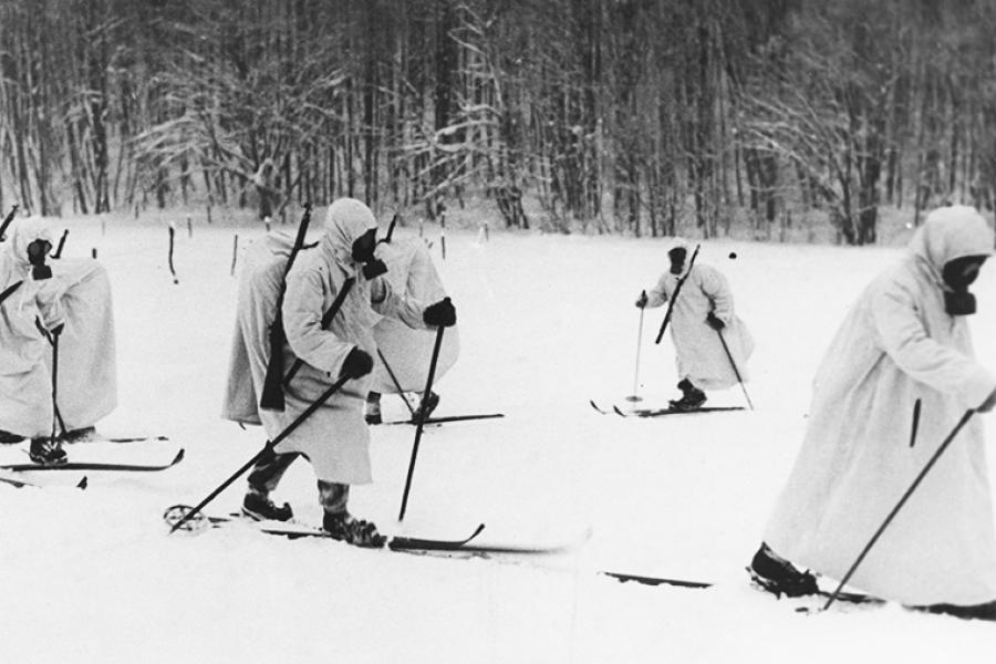 """Трилогия часть 3 """"Лыжи для пластуна зимой"""""""