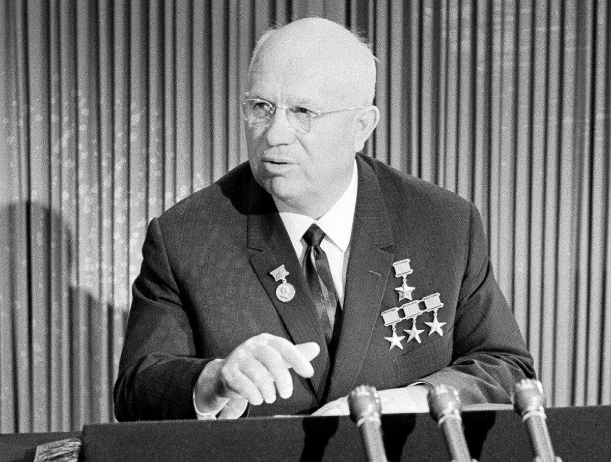Хрущёв – антипод Сталина