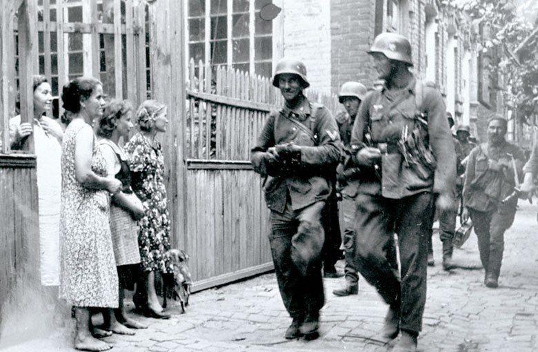 Преступления немецких оккупантов