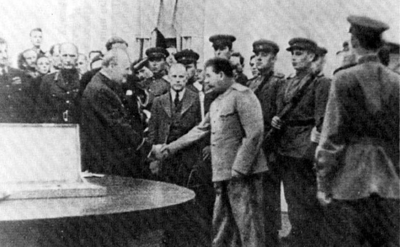 Сталинградский меч: что Черчилль подарил Сталину